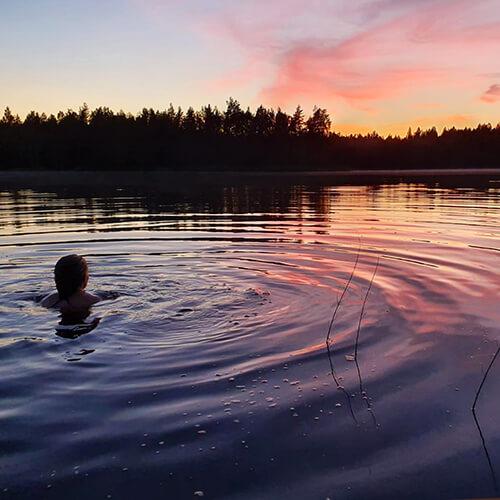 Pulahda Vähä-Harjujärveen