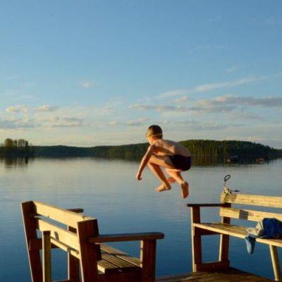 Järvi ja poika